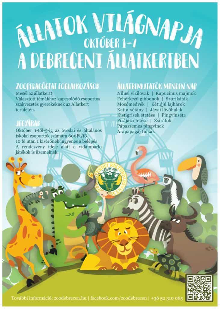 Állatok Hete a Debreceni Állatkertben