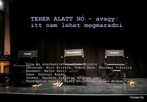 Teher alatt nő – Avagy: Itt nem lehet megmaradni - Magvető Café előadása