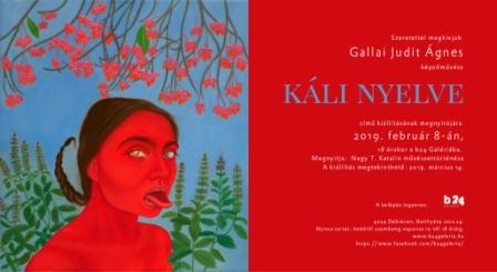 Káli nyelve – kiállításmegnyitó a b24 Galériában