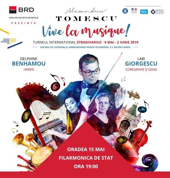 VIVE LA MUSIQUE - Nemzetközi Stradivarius Koncertkörút