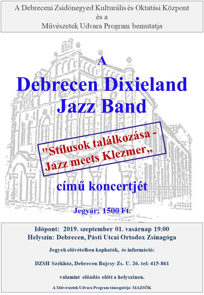 Jazz meets Klezmer - Stílusok találkozása