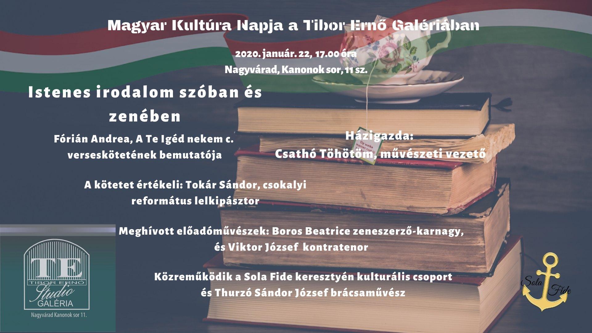 Magyar Kultúra Napja a TEG-ben