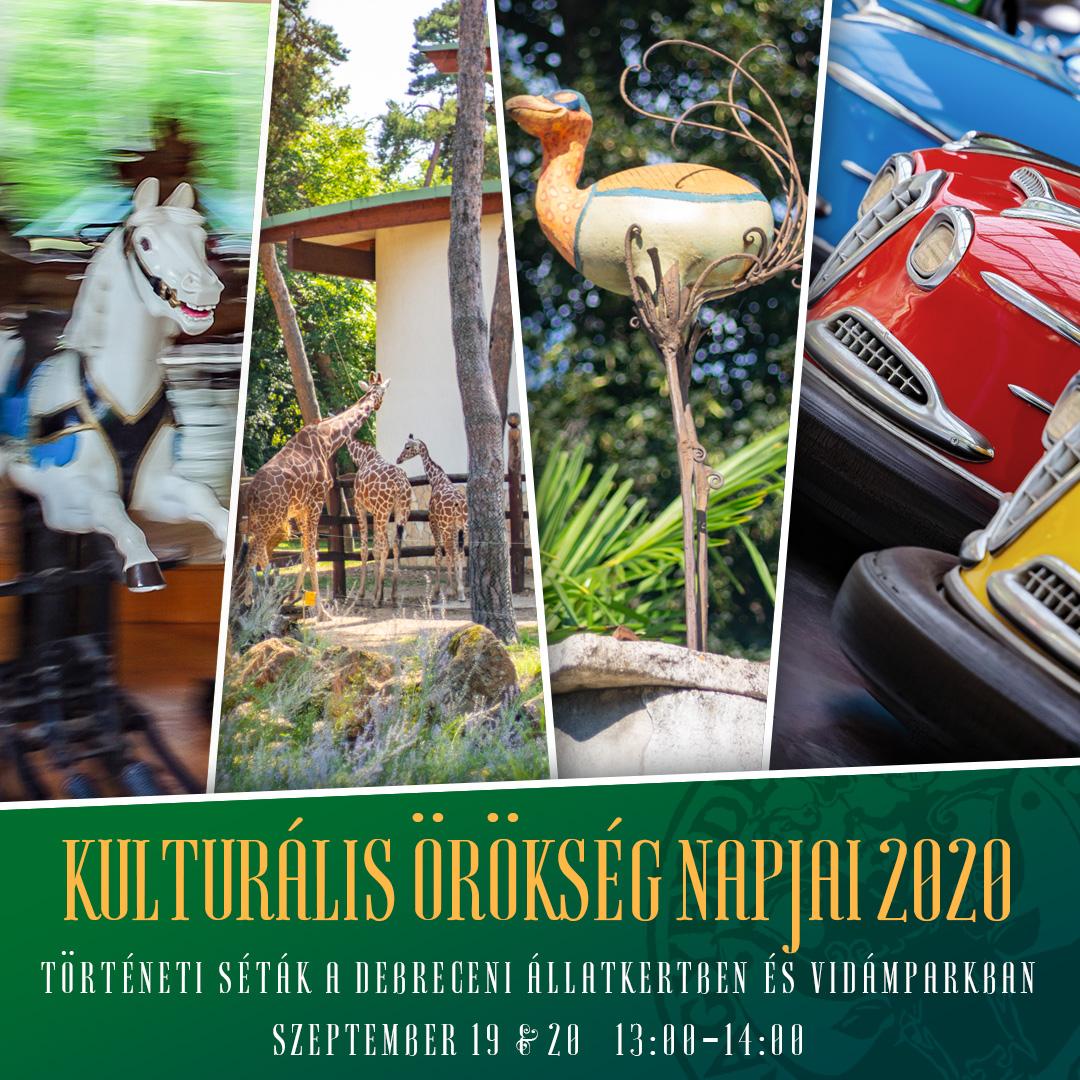 Örökségnapi séták a Debreceni Állatkertben és Vidámparkban