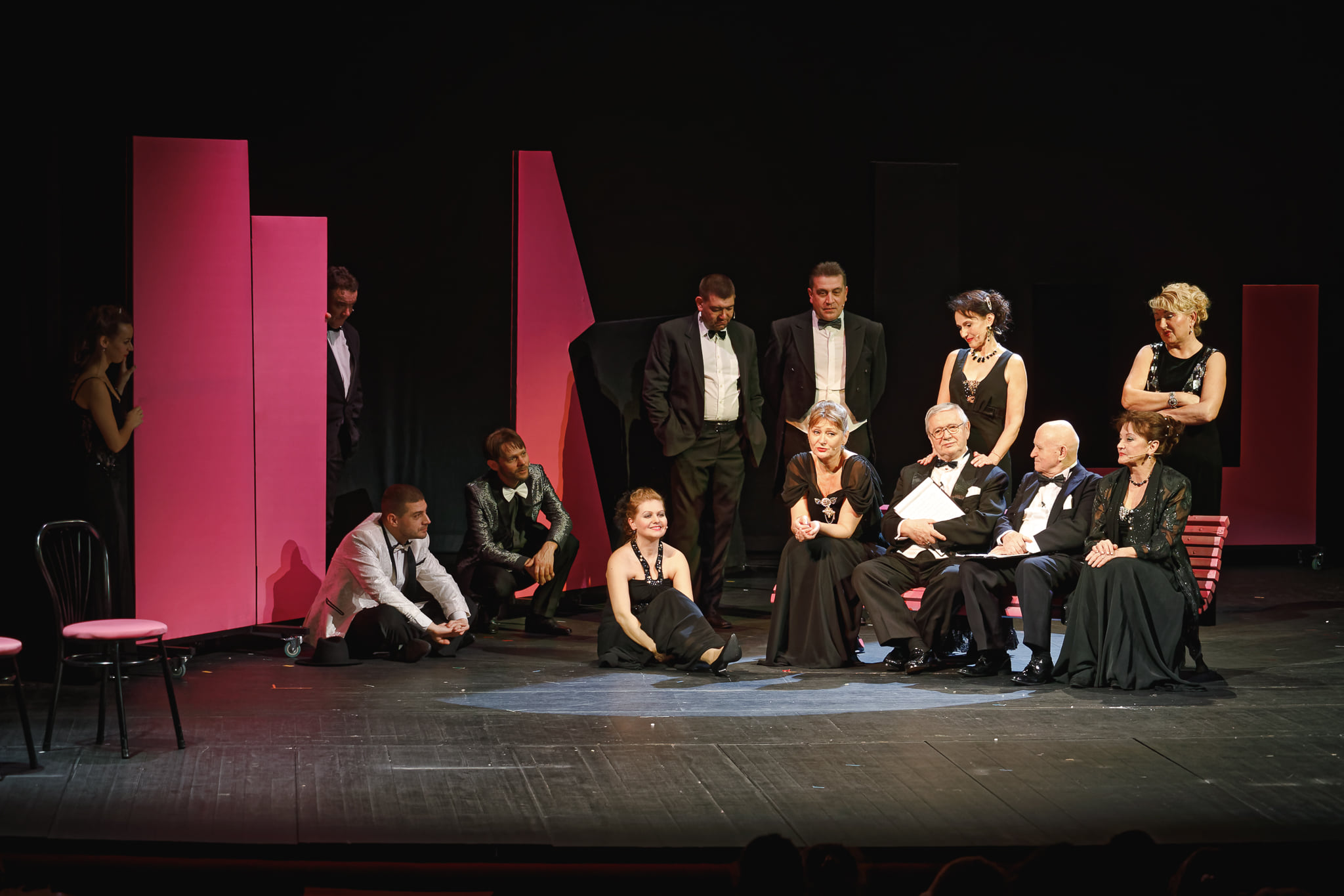 Kabaré 120 a Színházban